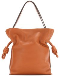 Loewe Flamenco Knot Small Leather Shoulder Bag - Lyst