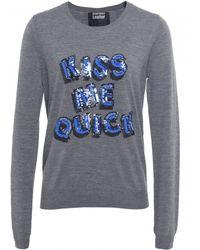 Markus Lupfer Kiss Me Quick Sweater - Lyst
