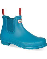 Hunter Original Chelsea Wellington Boots - Lyst