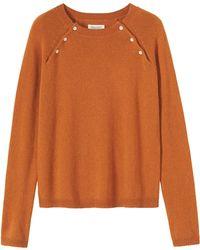 Toast Orange Albine Sweater - Lyst