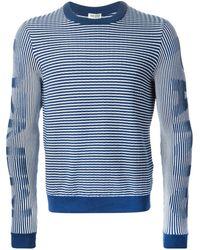 Kenzo '' Striped Sweater - Lyst