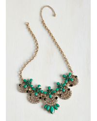 Ana Accessories Inc - Hit The Town Stunning Necklace In Jade - Lyst