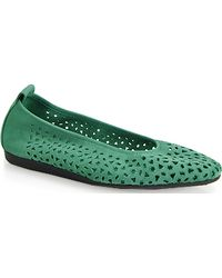 Arche Lilly - Punched Ballet Flat - Lyst