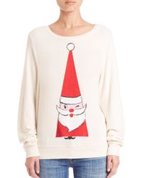 Wildfox | Jingle Yam Sweatshirt | Lyst