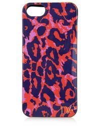 Diane von Furstenberg Vintage Leopard-print Iphone 5 Case - Lyst