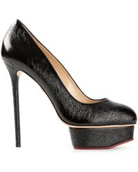 Charlotte Olympia Josie Pumps - Lyst