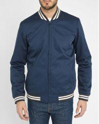 Levi's | Blue College Cotton Jacket | Lyst