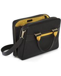 Acqua Di Parma Tournãe Business Leather Business Bag - Lyst