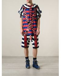 Bernhard Willhelm - 'East Coast' Knit Shorts - Lyst