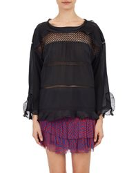 Etoile Isabel Marant Crochet  Voile Cadix Top - Lyst