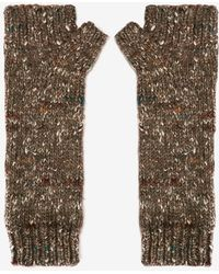 Exclusive For Intermix - Flecked Fingerless Gloves - Lyst