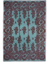 Valentino Lace Print Cashmere-Silk Scarf multicolor - Lyst