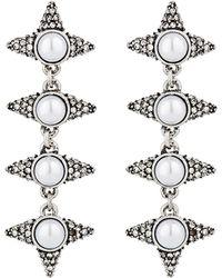 Cocoa Jewelry - Women's Danica Drop Earrings - Lyst