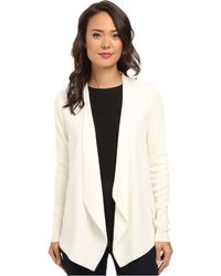 Calvin Klein Flyway Jacket W Rib Sleeve - Lyst