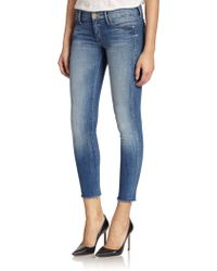 Mother The Looker Skinny Ankle Jeans - Lyst