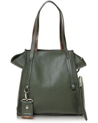 Francesco Biasia - Electrical Laminated Leather Tote - Lyst