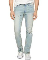 Calvin Klein Jeans Slim Straight Leg Jeans - Lyst