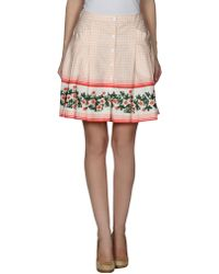 Philosophy di Alberta Ferretti Knee Length Skirt - Lyst