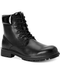 Calvin Klein Black Oakes Boots - Lyst