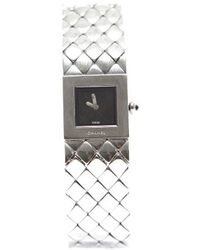 Chanel Pre-owned Matelasse Stainless Steel Ladies Watch - Lyst