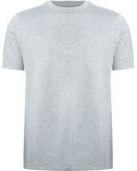 Neil Barrett Round Neck T-Shirt - Lyst