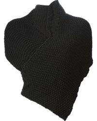 Demobaza Chunky Knit Shawl - Lyst