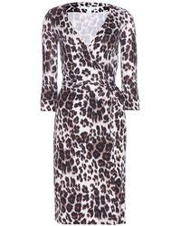 Diane Von Furstenberg New Julian Two Silkjersey Wrap Dress - Lyst