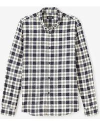 A.P.C. Button Down Shirt - Lyst