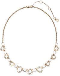 Marchesa | 'flower' Collar Necklace | Lyst
