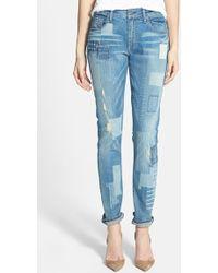 True Religion 'Audrey' Slim Boyfriend Jeans - Lyst
