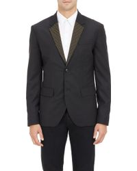 Marc By Marc Jacobs Studded Lapel Two-button Sportcoat - Lyst