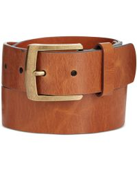 Tommy Hilfiger Tricolor Edge Painted Belt - Lyst