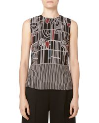 Maiyet Side Button Shell Top black - Lyst
