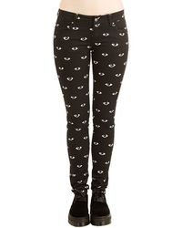 Tripp Nyc - Eye See You Jeans - Lyst