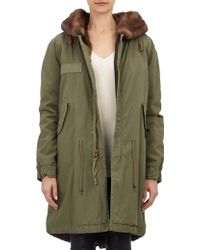 Mr. And Mrs. Italy Fur-Lined Parka - Lyst