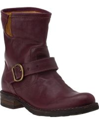 Fiorentini + Baker Eternity Eli Ankle Boot Plum Leather - Lyst