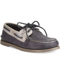 Sperry Top-sider Ao 2eye Twotone Boat Shoes - Lyst