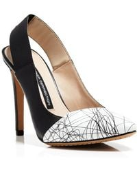 French Connection Slingback Pumps - Maemi - Lyst