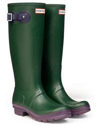 Hunter Original Contrast Wellington Boots - Lyst