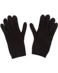 Inverni Knitted Cashmere Gloves - Lyst