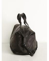 Maison Margiela | Black/silver Weekender Bag | Lyst