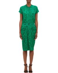 Thakoon Eyelash Georgette Draped Dress - Lyst