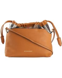 Burberry The Little Crush Calf-leather Shoulder Bag - Lyst