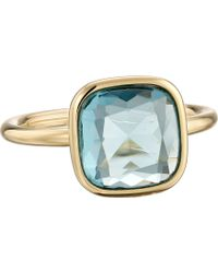 Michael Kors Botanicals Stone Ring blue - Lyst