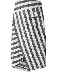 Altuzarra Arcadia Cotton-Blend Pencil Skirt - Lyst