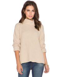 Neuw - Splits Turtleneck Sweater - Lyst