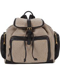 Pierre Hardy Shearling Av01 Backpack - Lyst