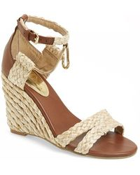 MIA 'Studio' Wedge Sandal - Lyst