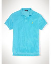 Polo Ralph Lauren Custom-fit Cotton Terry Polo - Lyst