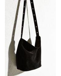 Ecote - Suede Drape Shoulder Bag - Lyst